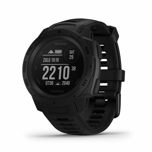 Garmin Instinct Tactical Rugged Outdoor GPS Watch Black (010-02064-70)