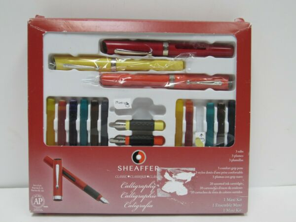 Sheaffer Calligraphy Maxi Set With 3 Drawing Pens