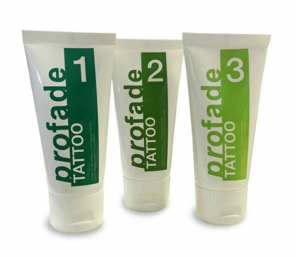 Profade Tattoo Removal Cream W 3 Parts System Make Your Tattoo Disappear
