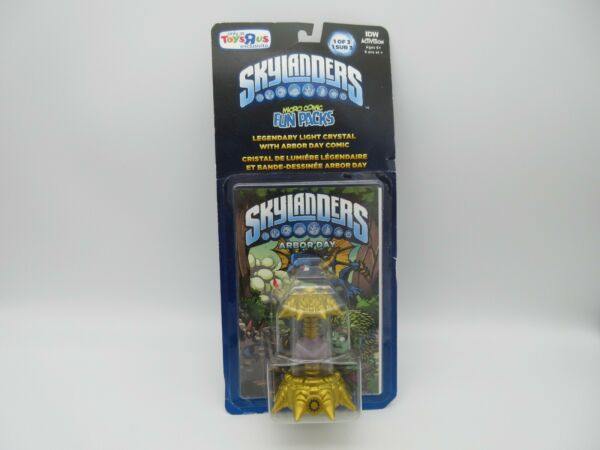 Skylanders Imaginators - Legendary Light Crystal Fun Pack w Arbor Day Comic NIP