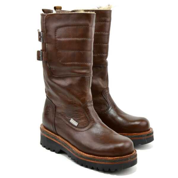 Extra Warm Men Winter Boots ROLF Classic 100% Natural Leather Fur