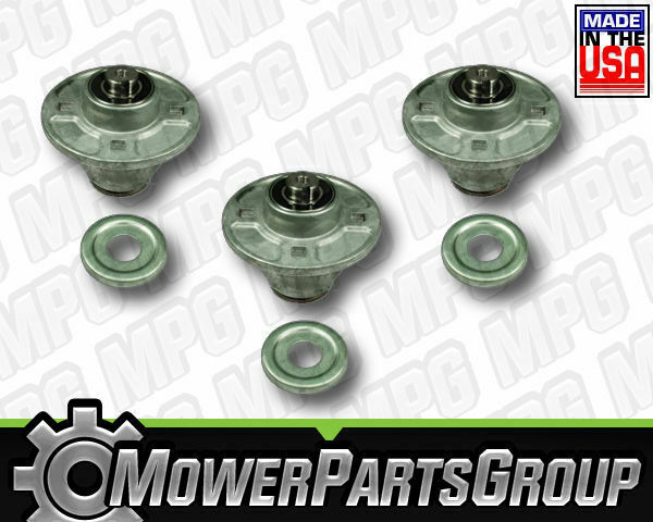 P165 (3) Spindle Assemblies Gravely Ariens Replacement 51510000 Fits Many ZT