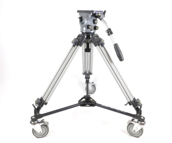 Miller Arrow 50 Head & Aluminum Legs Tripod with Dolly 100mm