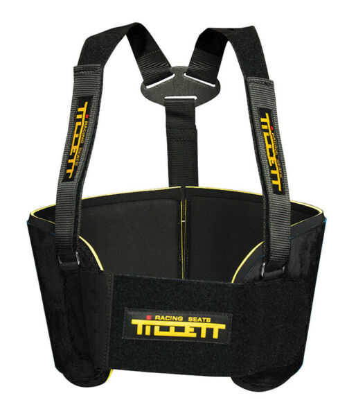 Go Kart Tillett P1 Rib Protection System Large Black Racing Race Karting