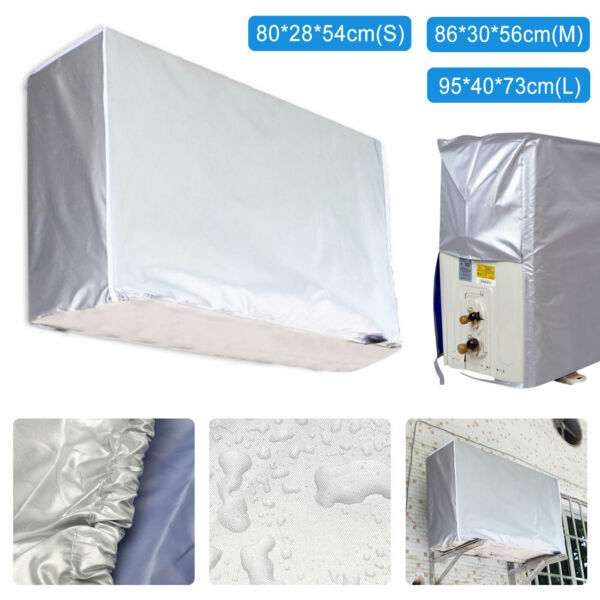 3-Size Window Air Conditioner Cover For Air Conditioner Outdoor Unit Anti-Snow