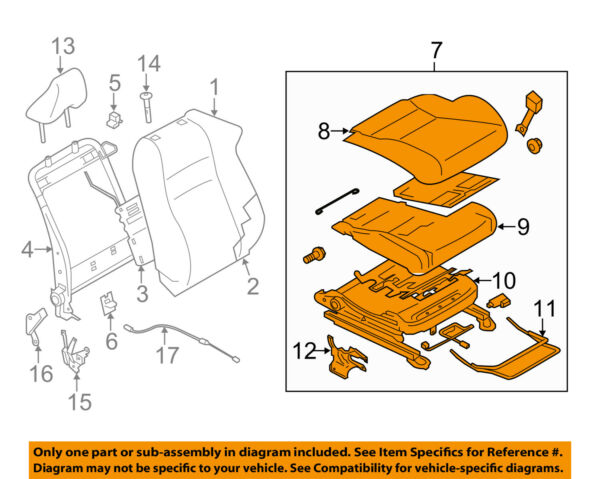 TOYOTA OEM 2018 86 Front Seat-Cushion Assembly Right SU00307737