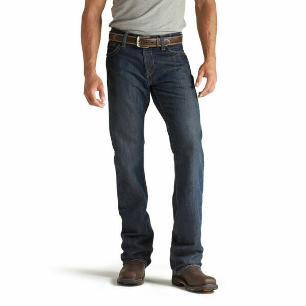 New! Ariat Men's M4 Shale Flame Resistant FR Denim Jeans 10012555