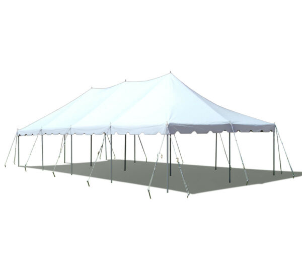 Premium 20x40' Pole Tent White Commercial Event Party Canopy Wedding Marquee