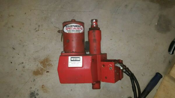 western snow plow pump electric solenoid