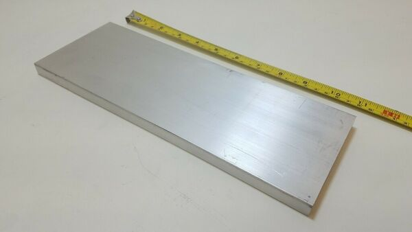 6061 Aluminum Flat Bar 1 2quot; x 4quot; x 11quot; long Solid Stock Plate Machining $21.13