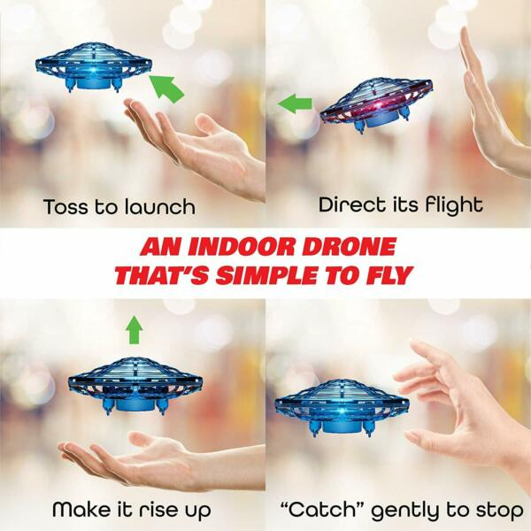 Kids Adults Hand Operated Drones Teen Mini Helicopter Orb Flying Ball Drone Toys