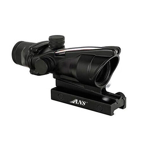 1x32 Tactical Red Dot Sight Scope with Red Fiber $50.41