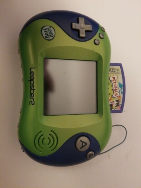 Leap Frog Leapster 2 With Pet Pals Fast Shipping!!!!! $19.95