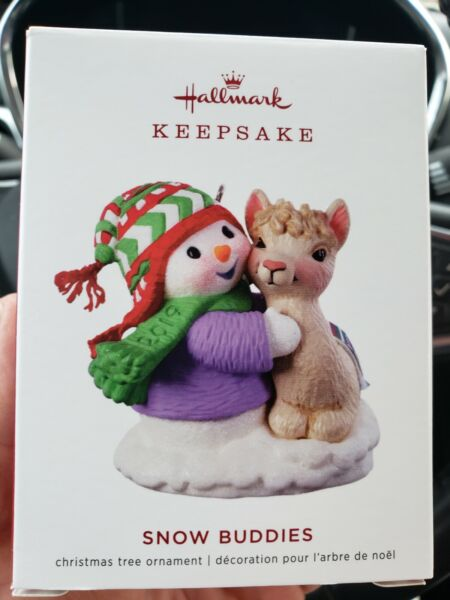 2019 Hallmark Ornament SNOW BUDDIES #22 in Snow Buddies series New FREE SHIPPING