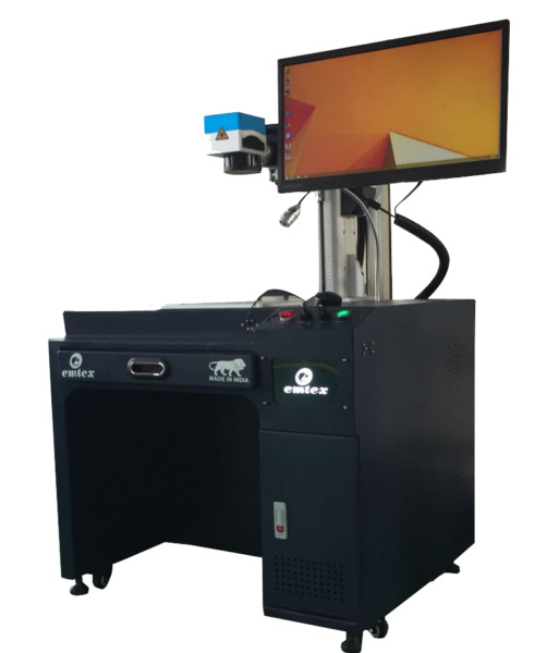 Fibre laser marking machines laser power 30 watt for Plastic Aluminium SS MS.