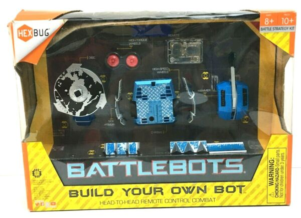 HexBug BattleBots Build Own Remote Control Battle Strategy Combat Kit 10 Pcs