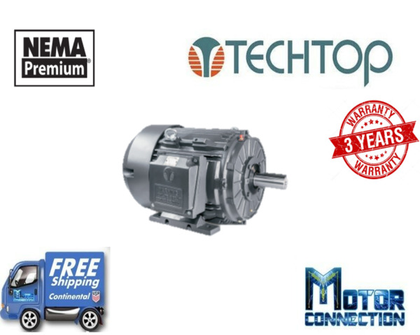 300 HP Electric Motor 1800 RPM 449t  460V 3-Phase Rigid Cast Iron