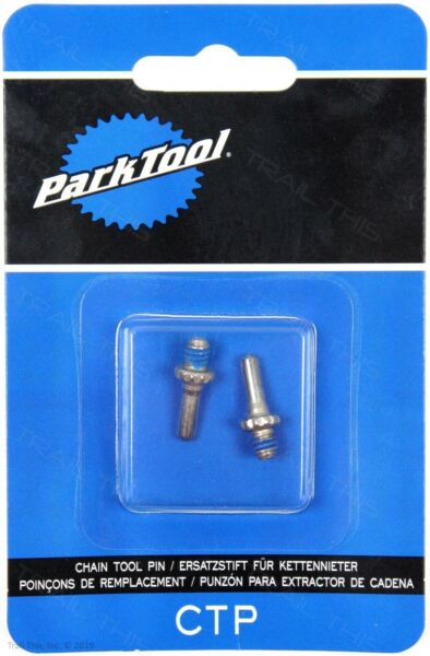 Two 2 Park Tool CTP Replacement Pins for CT 3.2 CT 3.3 CT 5 Bike Chain Breaker $6.45