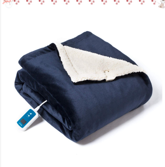 Bedsure Washable Electric Heated Blanket Throw 50x60 inches