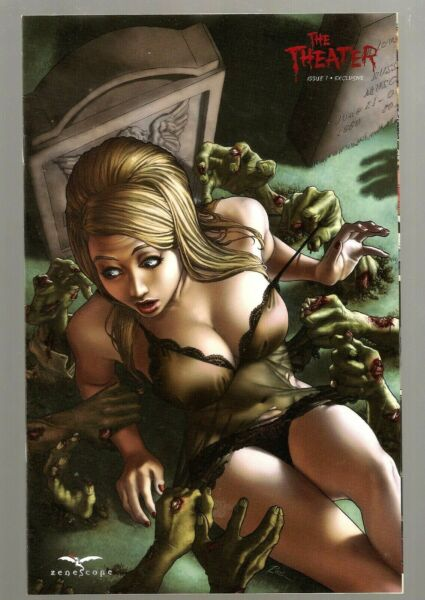ZENESCOPE The Theater #1 2011 MINT RARE COMIC Sexy Exclusive Rodin Esquejo