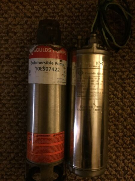 """goullds submersible well pump 10ls07422 4"""""""