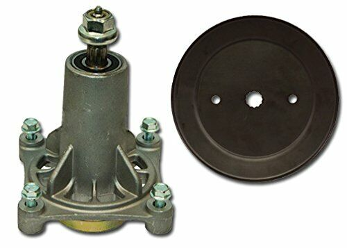 Spindle Assembly with Pulley Replaces Ariens Spindle 21546238 Pulley 21546446