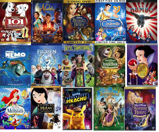 Disney Pixar DVD Movies Lot Combo Titles - Buy More Save on Shipping - BRAND NEW