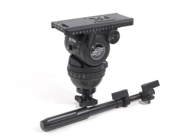 Sachtler Video 18 S1 Fluid Tripod Head 18S1 100mm (4-40 lbs)