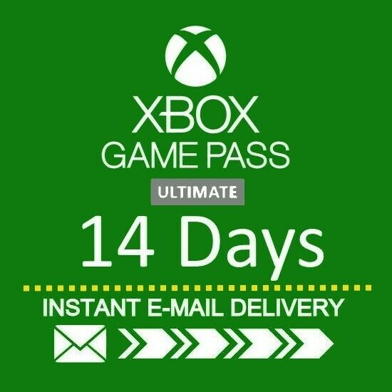 XBOX LIVE 14 Day GOLD Game Pass Ultimate Trial Code INSTANT DISPATCH $8.95
