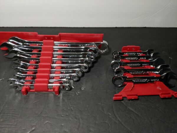 New Husky 14 Piece Combination Wrench Set Metric