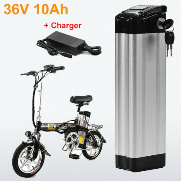 36V 10AH 250W 350W Silverfish Li ion E bike Bike Battery Pack With Charger Kits $194.43