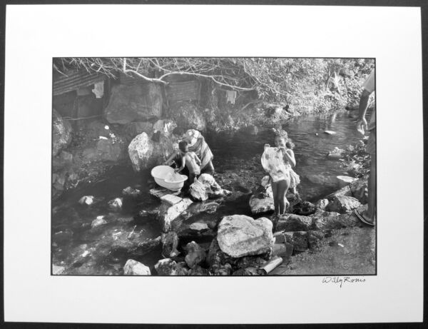 Willy Ronis - the Rocks - Reunion - 1990 - Proof Baryta 11 1316x15 1116in
