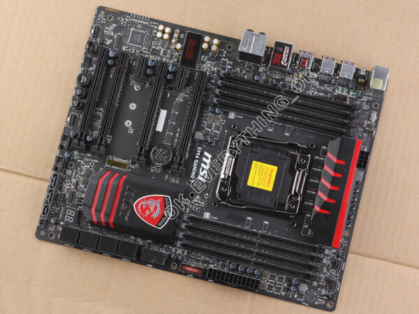 MSI X99A GAMING 7 LGA 2011 3 Motherboard Intel X99 DDR4 SATA 6Gb s amp; USB3.1