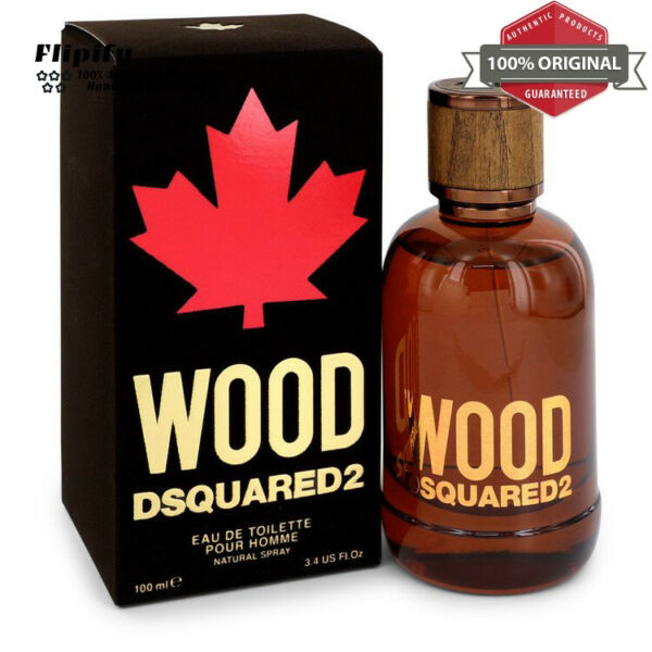 Dsquared2 Wood Cologne 3.4 oz EDT Spray for Men by Dsquared2 $50.67