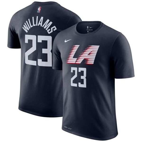 Nike 2019 Los Angeles Clippers Lou Williams City Edition Dri-FIT Player T-Shirt
