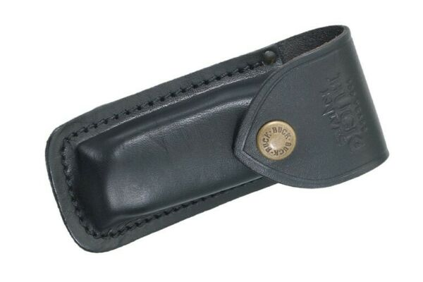 Buck Knives 112 Ranger Black Genuine Leather Sheath