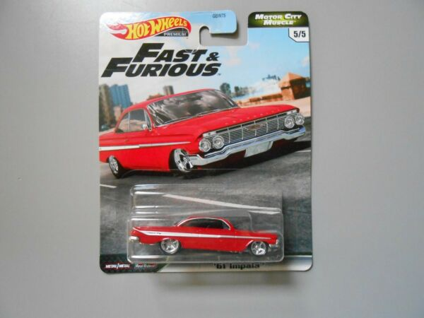 2020 HOT WHEELS * FAST & FURIOUS * MOTOR CITY MUSCLE * '61 IMPALA