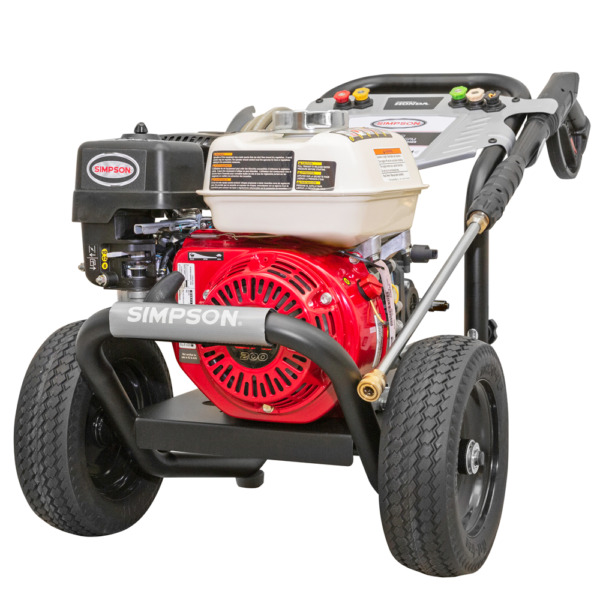 Simpson PowerShot PS61002 S 3500 PSI Gas Cold Water Pressure Washer w Ho... $589.00