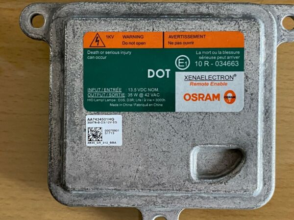 OSRAM OEM  Buick LaCrosse Xenon HID Ballast Lincoln MkZ 10R034663 fits many more
