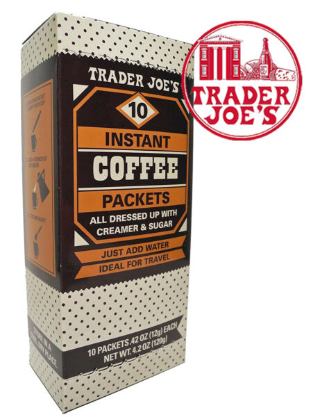 🔥 Trader Joe#x27;s Instant Coffee Packets $7.20