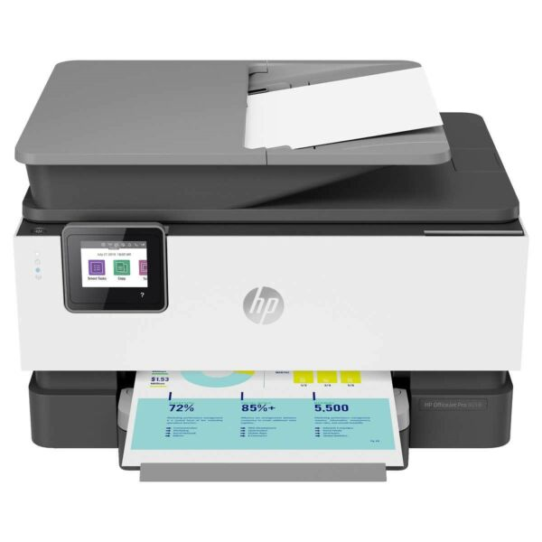 HP Officejet Pro 9018 All-in-One Wireless Smart Home Printer - Scan, Fax
