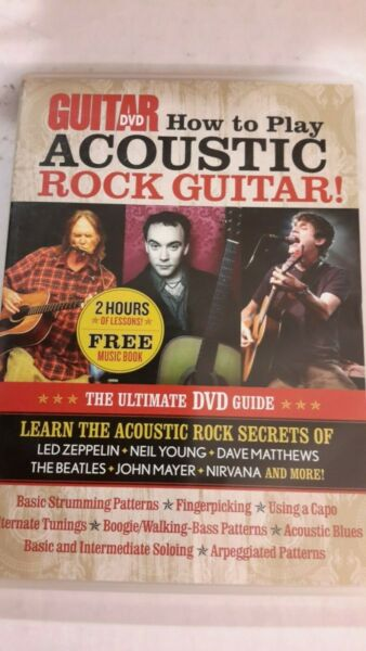 HOW TO PLAY ACOUSTIC ROCK GUITAR! The Ultimate DVD Guide by Andy Aledort