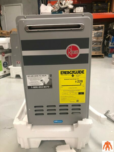 Rheem RTG 84XLN 1 8.4 GPM Outdoor Natural Gas Tankless Water Heater $659.99