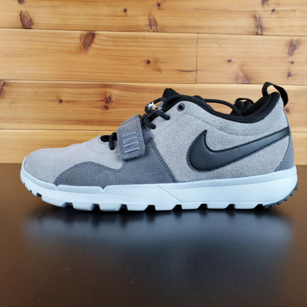 Nike SB Air Trainerendor Classic Sneakers Cool Grey / Black 806309-001 Mens 8