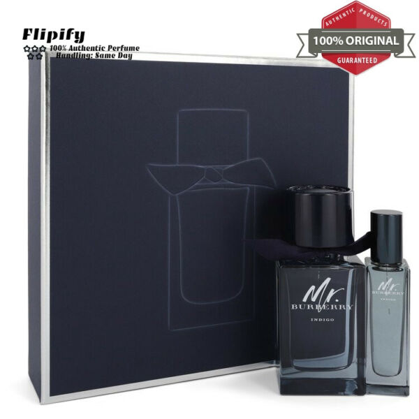 Mr Burberry Indigo Gift Set for Men by Burberry $53.83