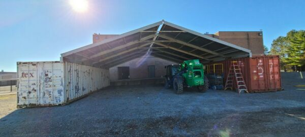 ATCO 40 ft Rapid Roof SHIPPING CONTAINER CONEX  COVER