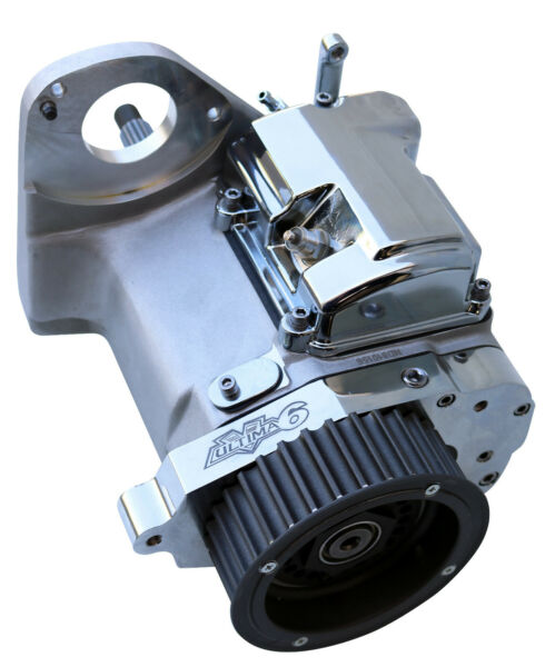 Ultima Cast 6 spd Right Side Drive Transmission for Custom Frames No Cover $720.99