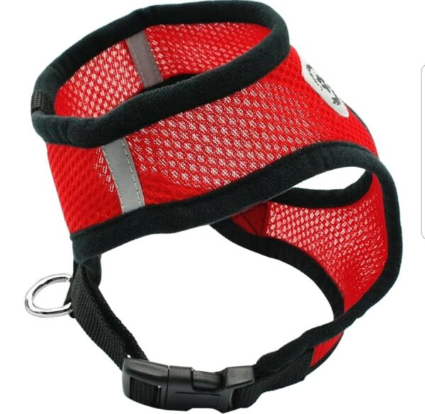AIR MESH DOG AND CAT HARNESS WITH LEASH FOR DOGS OR CATS $6.00