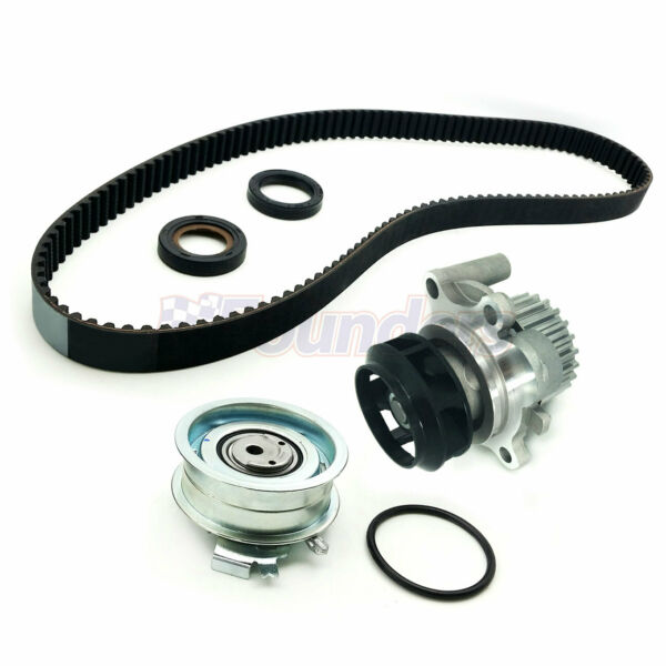 Timing Belt Kit & Water Pump for Volkswagen Beetle Golf Jetta 2.0L l4 SOHC