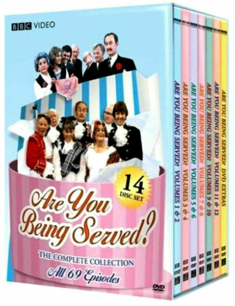 Are You Being Served? The Complete series 1 12 DVD collection 14 Disc box Set $45.77